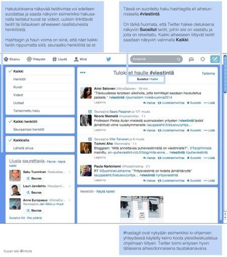 Twitter-opas vasta-alkajille | #jaajotain @linkola | Hitchhiker | Scoop.it