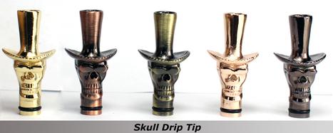 Quit Smoking Electronic Cigarette Skull Drip Tip_Shenzhen Jufren Technology Co., Ltd   Jufren Technology   Scoop.it