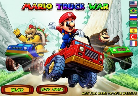 Mario Truck War | Best Cartoon Games | Scoop.it