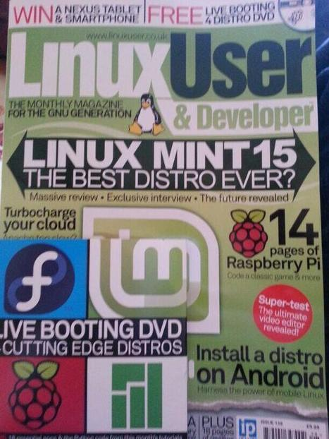 Lots of #raspberrypi goodness in the latest Linux User mag | Raspberry Pi | Scoop.it