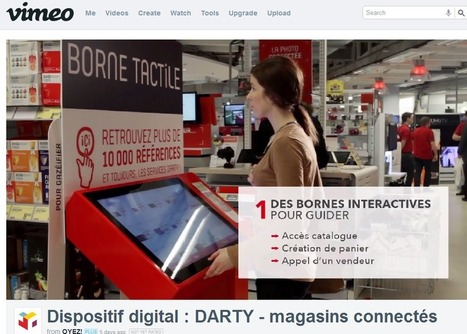 Magasin connecté Darty : de l'importance d'une réalisation technique sans failles… » Connected Store | Connected Store | Web to store | Scoop.it