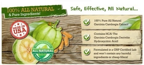 Pure Garcinia Cambogia Plus Review - An Ideal Weight Loss Solution To Become Slim! | sollars scott | Scoop.it