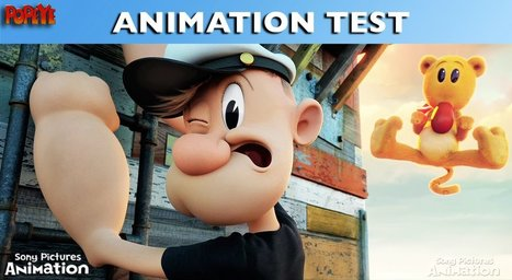 Genndy Tartakovsky's POPEYE Animation Test - YouTube   Hot Trends in Social Media   Scoop.it