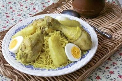 Douida ou dwida, vermicelles au poulet | Les recette de les joyaux de sherazade | Scoop.it