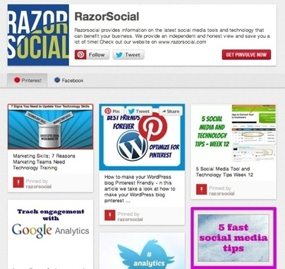 Pinterest Tools: 8 Tools to make your life more Pinteresting | Social Media & Marketing | Scoop.it