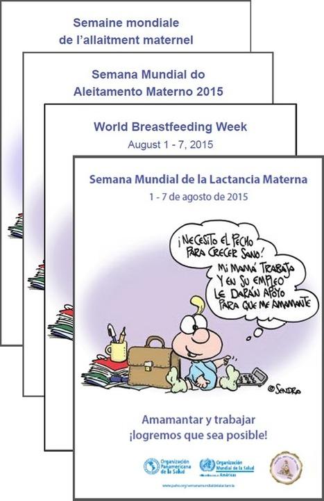 Semana Mundial de la Lactancia Materna 2015 | Salud Publica | Scoop.it