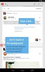 Link Bubble Browser For Android With Special Feature: Download It | Android and iOS Apps | Scoop.it