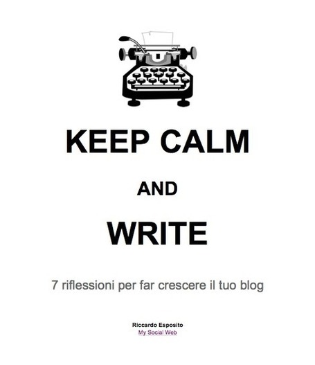 Scarica l'e-book di My Social Web (gratis!) | Copywriter Freelance | Scoop.it