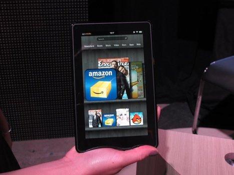 Nouveaux lecteurs Amazon Kindle: premières impressions | Misc Techno | Scoop.it