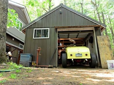 Old-School Hot Rods Built in a One-Car Garage | Muscle Cars of America | Scoop.it
