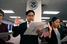 Many immigrants who are eligible for naturalization don't pursue the path to U.S. citizenship. | Littlebytesnews Current Events | Scoop.it