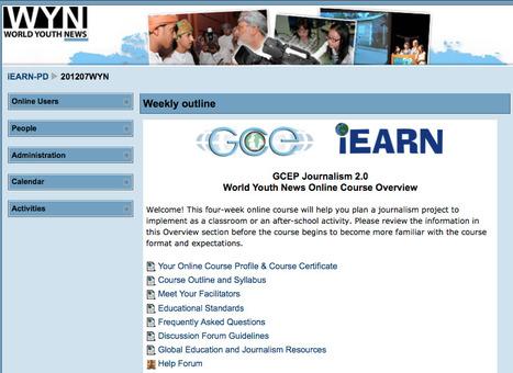 #iEARN Global Connections and Exchange Teacher Journalism Online Course Begins   iEARN in Action   Scoop.it