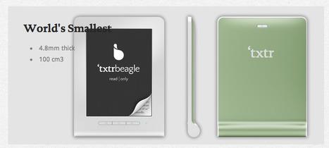 Txtr Beagle: De eerste echte e-reader onder de tien euro | BlokBoek e-zine | Scoop.it