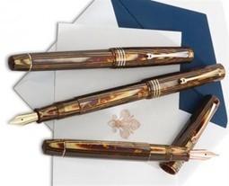 US Exclusive: Omas Arte Italiana Bronze Arco Vintage Paragon Special Edition Fountain Pen | Writing instruments | Scoop.it