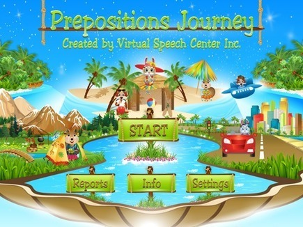 Prepositions Journey App | Speech and Language Therapy Apps | Scoop.it