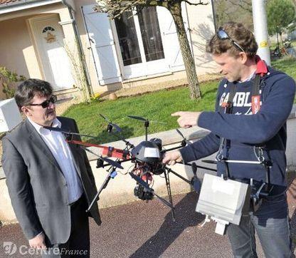 Un drone au service de la lutte contre le gaspillage d'énergie | TechniVue's Updates | Scoop.it