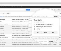 Gmail's new quick action buttons let you complete tasks without leaving your inbox | iGeneration - 21st Century Education | Scoop.it