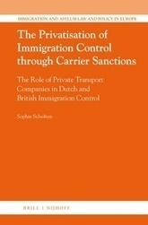 The Privatisation of Immigration Control through Carrier Sanctions | New Books | Scoop.it