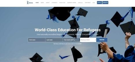 Une fac sur internet pour les réfugiés prépare son arrivée en France | L'enseignement dans tous ses états. | Scoop.it