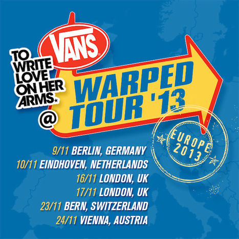 Thoughts from Vans Warped Tour Europe. | twloha.com | Vans Warped Tour | Scoop.it