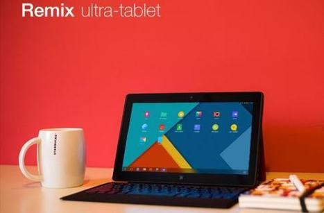 The Remix: Android tablet with laptop experience | Stock News Desk | Scoop.it