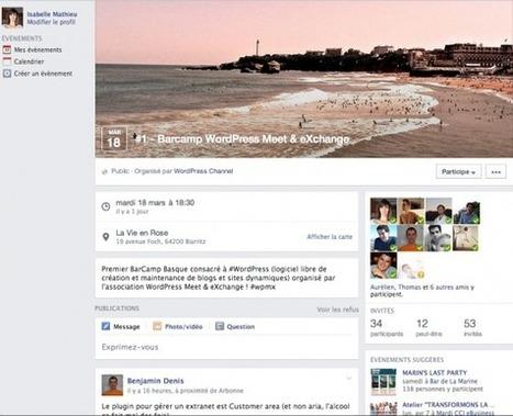 Opportunité pour le tourisme : nouvelle version des évènements Facebook et des pages suggérées | Animer une communauté Facebook | Scoop.it