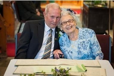 Pensioners tie the knot after bedside proposal - Mid Devon Gazette | Pensioner Security | Scoop.it
