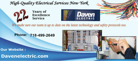 High Quality Commercial Electrical Services NYC | Daven Electric Inc - A NYC Electrician | Scoop.it