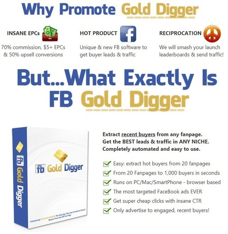 FB Gold Digger Review by Chris X and Ken | FB Gold Digger Review | Pinpopular | Scoop.it