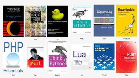Learn to program with 24 free eBooks (post from Life Hacker) | Dave Voyles | Tech Evangelist at Microsoft | .NET API-Libraries-Tools | Scoop.it