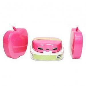 เครื่องชาร์จไฟพกพา CyberBatt Power Bank:6400mAh (Pink) | GoodShopHere.com | แบตเตอรี่สํารองราคาถูก | Scoop.it