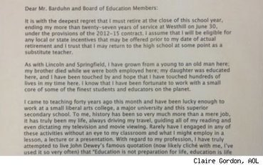 Teacher's Epic Resignation Letter: Profession 'No Longer Exists ... | Sports Ethics: Reed, M. | Scoop.it