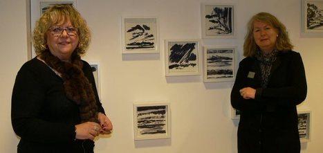 Caroline François-Rubino expose «entre peinture et poésie» - ladepeche.fr   Revue Paysages écrits   Scoop.it