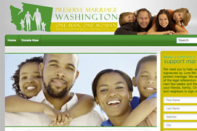 Washington gay 'marriage' law stopped after opponents gather 240,000 signatures   Gender, Religion, & Politics   Scoop.it