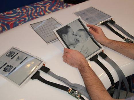 PaperTab : la tablette tactile flexible qui veut remplacer le papier | Technologie ,Referencement et Seo | Scoop.it