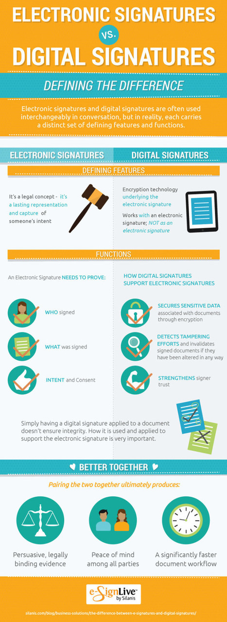 Do You Know the Difference Between a Digital Signature and an E-Signature? - Marketing Technology Blog | Marketing in the new Age | Scoop.it
