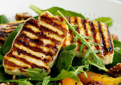 "Food Ways - ""Halloumi cheese ... 