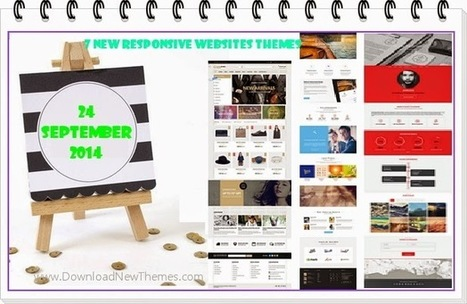7 New Responsive Websites themes of 24 Sept 2014 - Download New Themes   Information Technology   Scoop.it