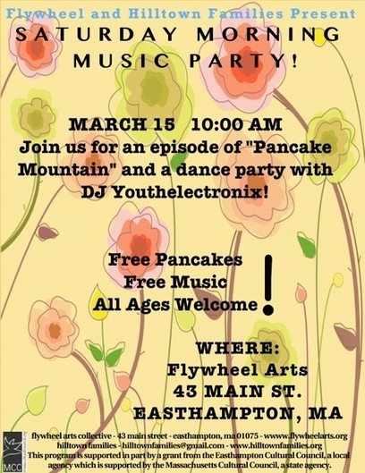Saturday Morning Music Party with Hilltown Families & Flywheel Arts Collective   My Hometown   Scoop.it