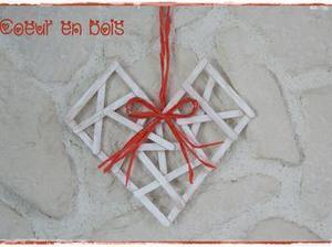 [#TUTO #BRICO] Créer un #coeur stylisé en bâtonnets de #bois pour la #stvalentin #DIY | DIY St Valentin | Scoop.it