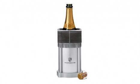 Porsche Engine Cylinders Recycled as Wine Bottle Coolers | actualité-buduquebec | Scoop.it