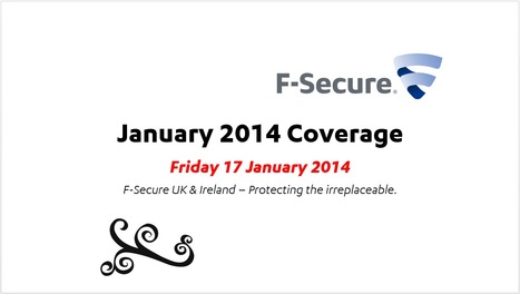 January Coverage (17th) | F-Secure Coverage (UK) | Scoop.it