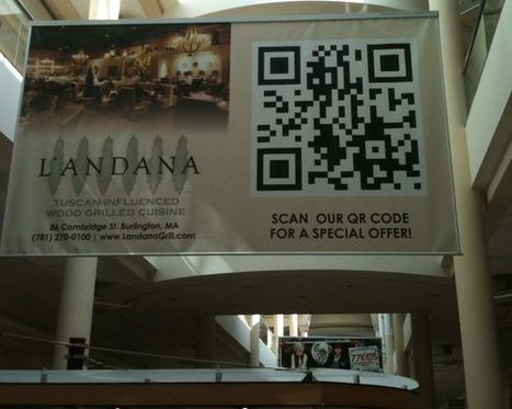 Web Ink Now: Ten examples of QR codes for real time marketing | The use of QR codes | Scoop.it