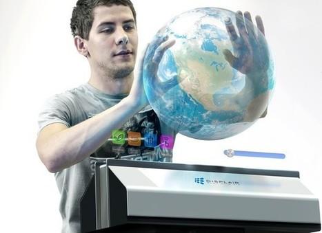 DisplAir, l'écran holographique à reconnaissance gestuelle | Fab Lab à l'université | Scoop.it