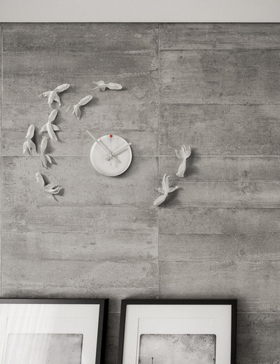 Goldfish Clock by Griffin Yang | others | Scoop.it