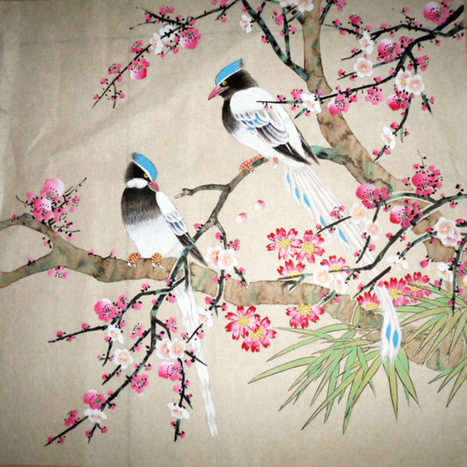 Artists Are Creators of Beauty--Flowers and Birds | Chinese Painting Blog | Artisoo Chinese Painting | Scoop.it