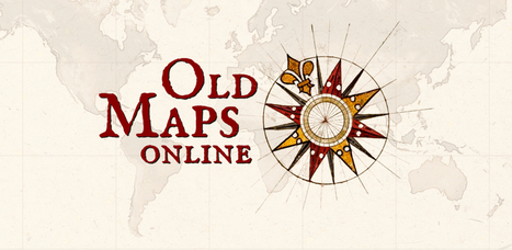 Old Maps Online | DataViz | Scoop.it