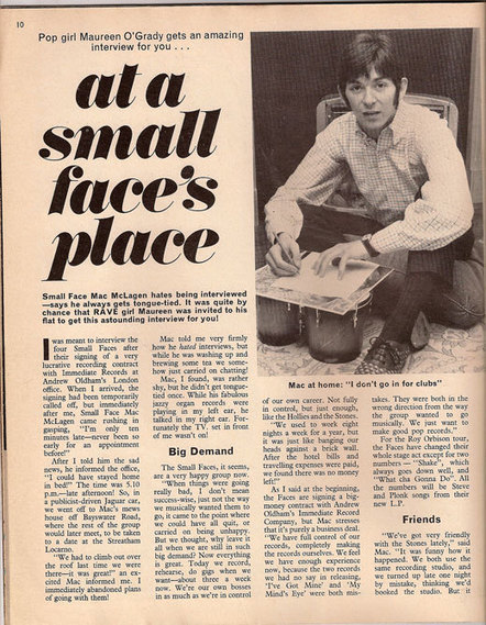 ::THE LOOK – adventures in rock and pop fashion:: » Ian McLagan in Rave magazine April 1967 | Fashion PR and Journalism | Scoop.it