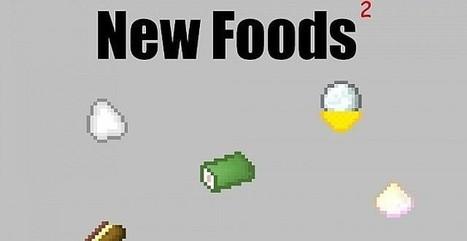 Details Mods New Foods 2/1.6.4 | Minecraft game free mods | Scoop.it