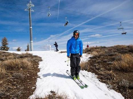 The California drought is so bad that people are basically skiing on dirt in Tahoe | Conformable Contacts | Scoop.it